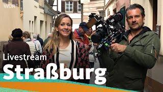 Live in Straßburg mit Tamina und Uwe   WDR Reisen
