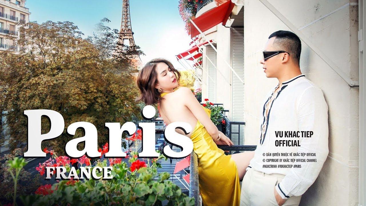 [ Tập 10 ]-Ngọc Trinh và Vũ Khắc Tiệp chơi lớn đập hộp phòng 110 triệu ở Paris – Hotel Plaza Thenee