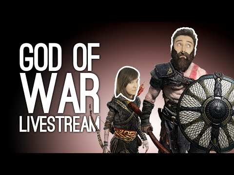 God of War Gameplay: First 90 Minutes of God of War 4 with Outside Xtra LIVE @ Loading Bar