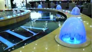 """""""Европейский"""" торговый центр, лифты, ресторан у фонтана"""
