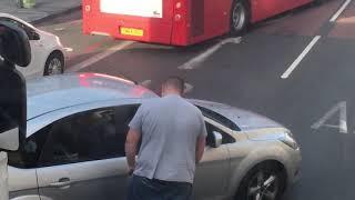 Street Fight! Truck Driver VS Car Driver Fight