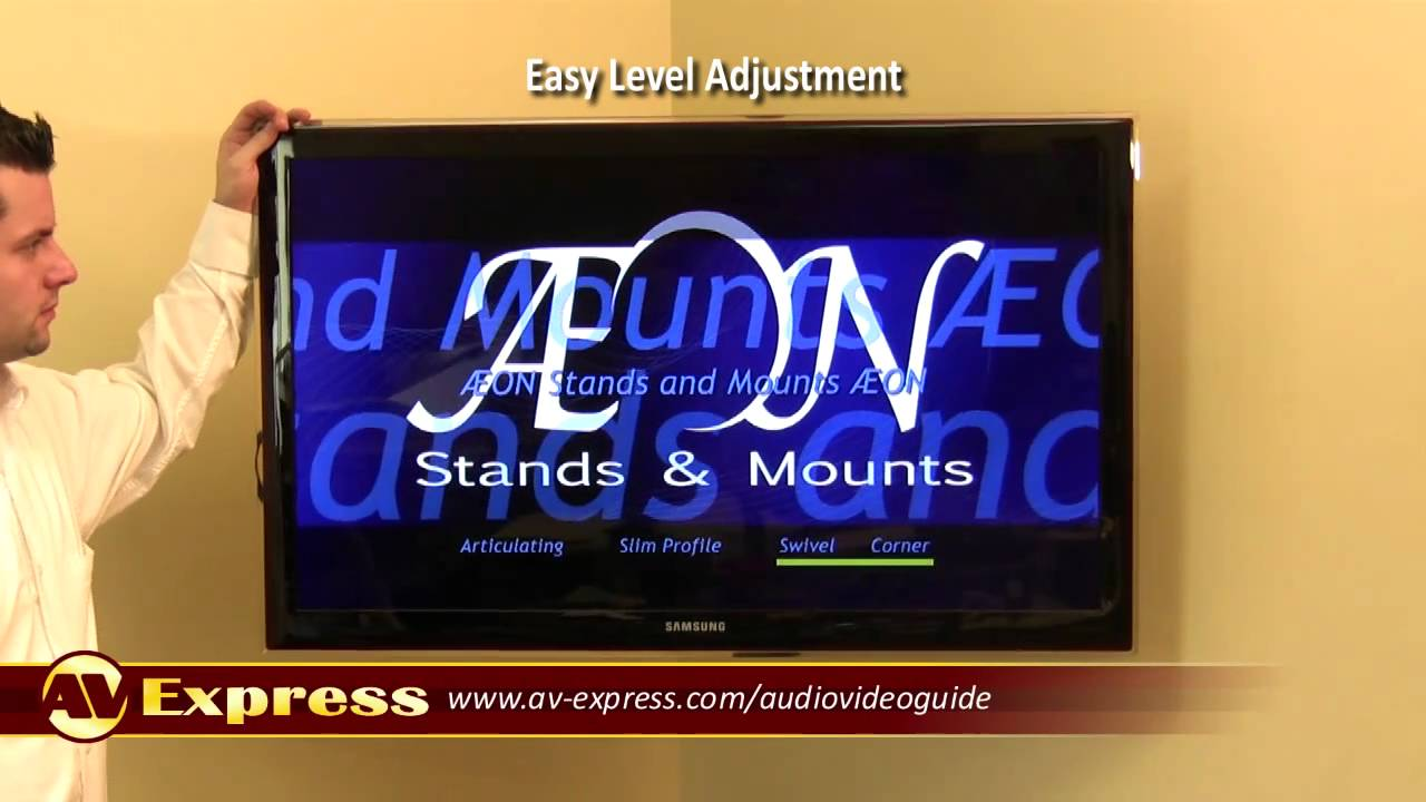 Corner Tv Wall Mount Bracket For Plasma Tvs Av Express Review Hide Flat Screen Cables An Easy Inwall Solution By Legrand Youtube