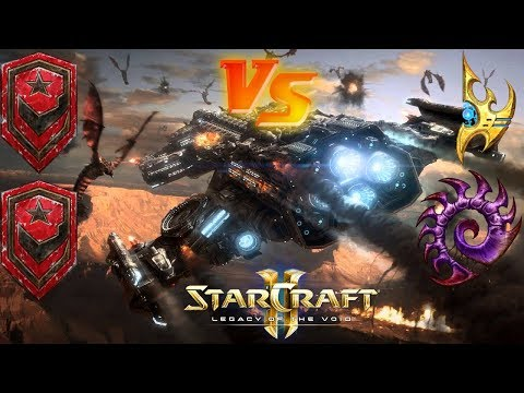 StarCraft II: Gameplay - Ranked Ladder Match #6 and #7 (Terran Double Bill)