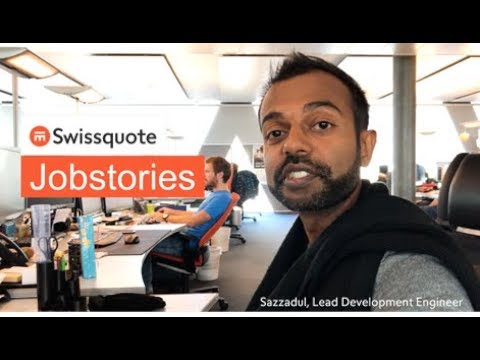 Lead Development Engineer by Sazzadul - Swissquote Jobstories