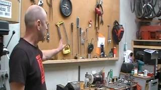 Tour de Kiwibikes Workshop - Bicycle Frame building tools etc.MOD