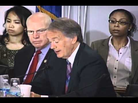 July 8, 2011: Markey Statement on Hydro-Fracking at Oversight Hearing