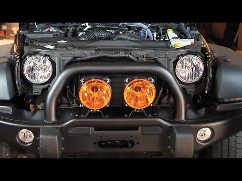 Kc Hilites Headlights Installation Conversion On Jeep