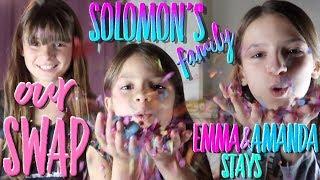 BIG SWAP 2018 !!! Énorme SWAP VS Emma&Amanda STAYS // Lévanah&Family