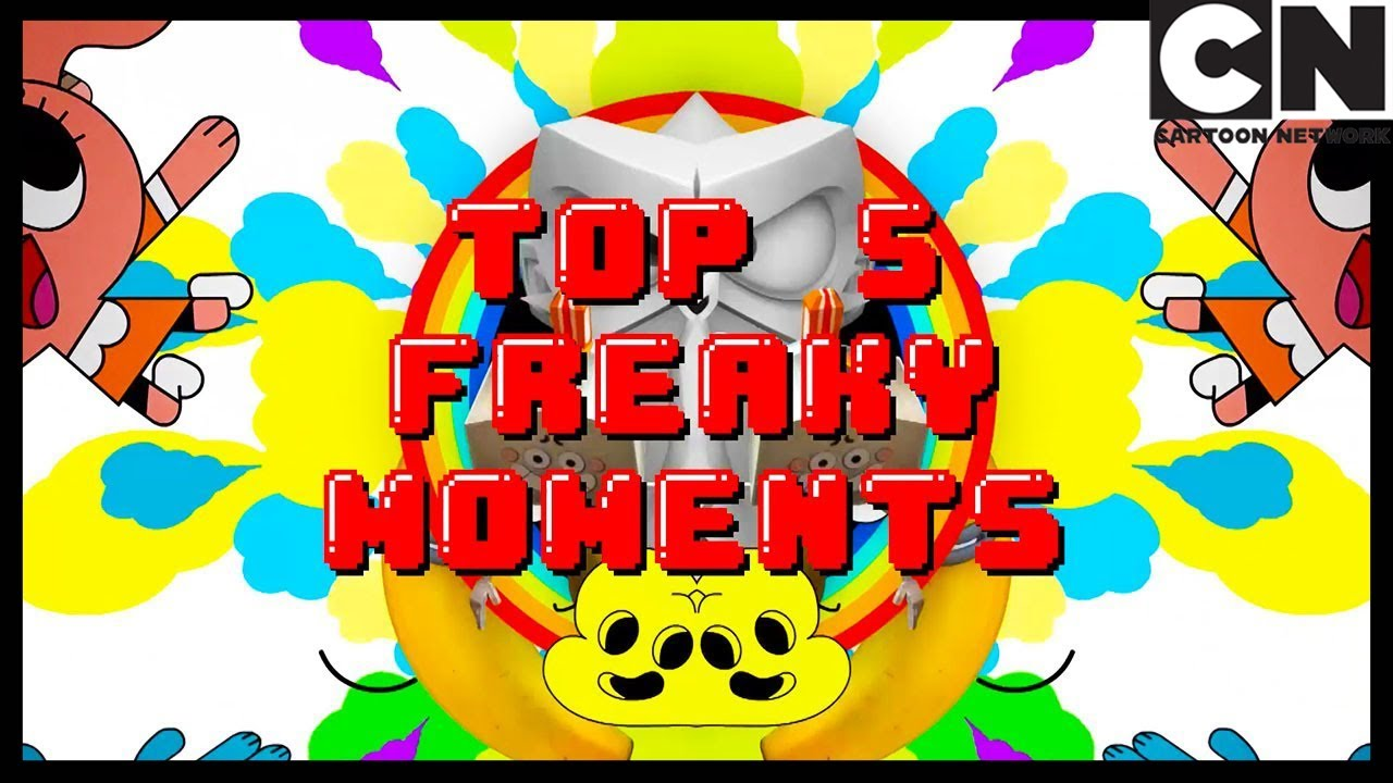 Top 5 Freaky Moments from Season 1! | Gumball | Cartoon Network