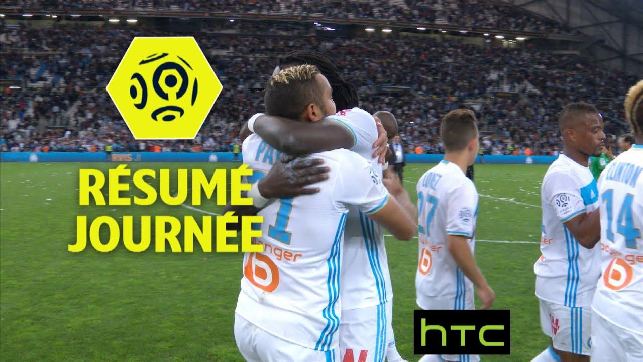 r u00e9sum u00e9 de la 33 u00e8me journ u00e9e - ligue 1    2016-17