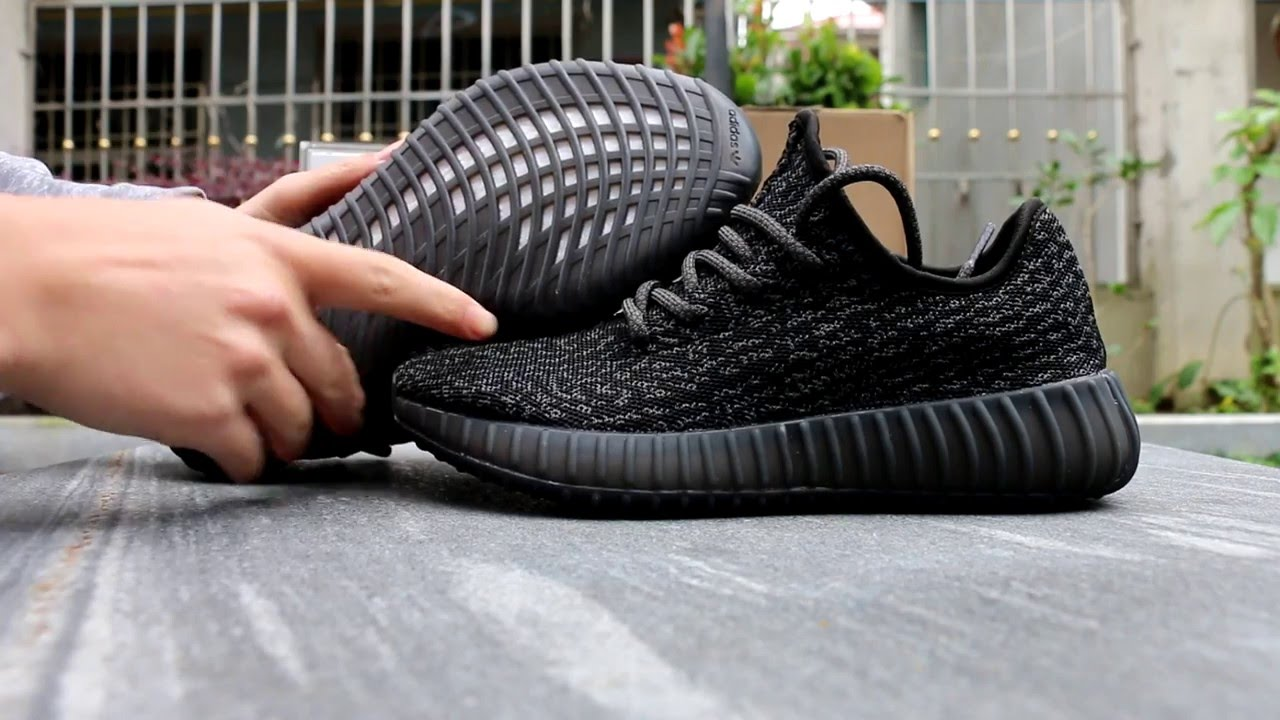 Adidas Yeezy 550 Boost Black