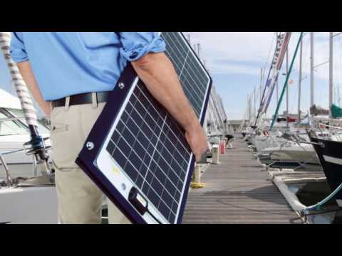 SunWare TX solar panels for bimini and sprayhood