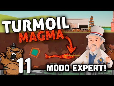 Cadê o Magma?? | Turmoil Expert #11 - The Heat Is On - Gameplay Português PT-BR