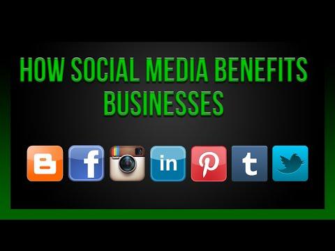 How Social Media Benefits Businesses!