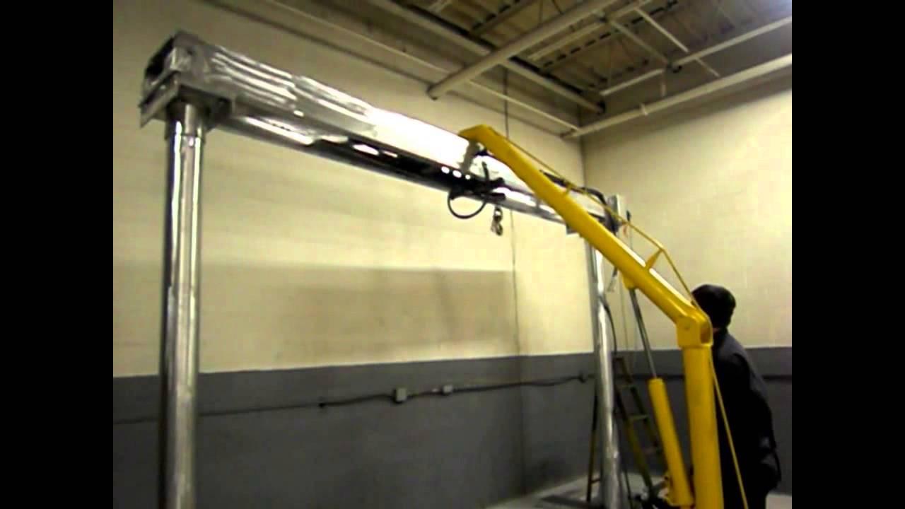 Low Profile Portable Gantry Crane Www Airtechnical Com