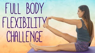 Stretch with Nico! Flexibility Challenge for Inflexible Beginners, Stretches How To, Full Body