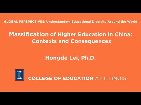 Massification of Higher Education in China