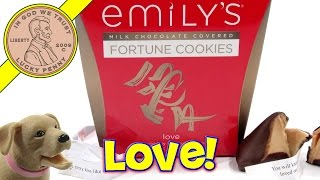 "Emily's Milk Chocolate Covered Fortune Cookies - ""butch Gets A Fortune"""