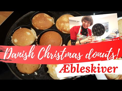 Diane's Danish Christmas - Æbleskiver (Danish donuts) and our family traditions