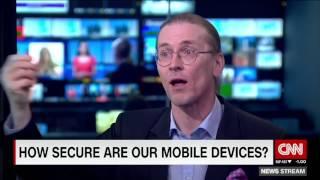 Mikko Hyppönen visits CNN