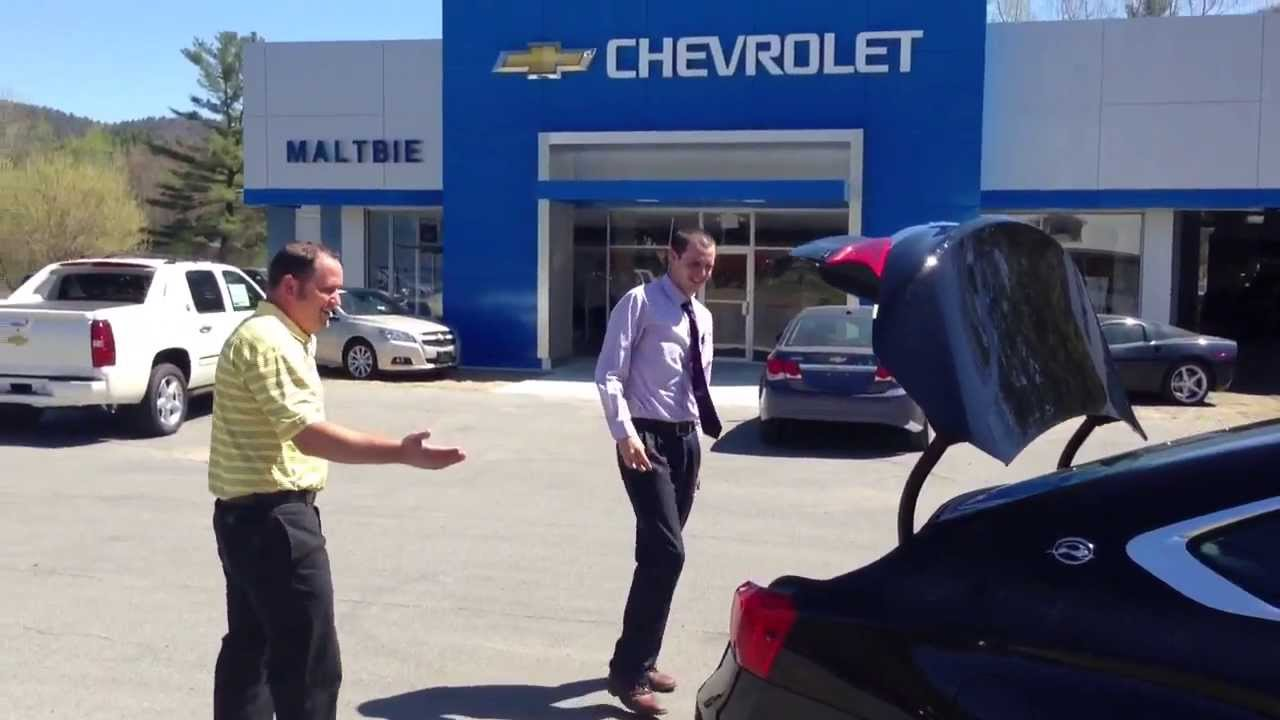 Maltbie Chevrolet - Discovering the ALL NEW 2014 Impala! See our all