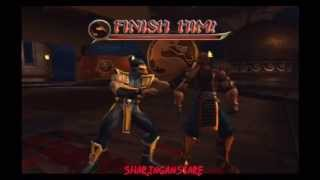 Mortal Kombat Deception/Armagedon - All Death Traps On Darrius