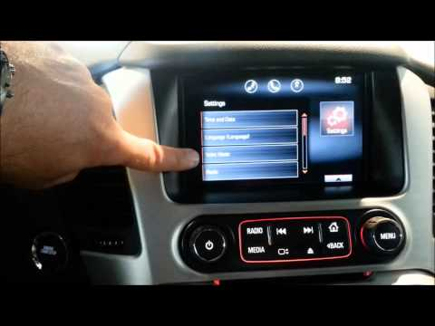 How to turn your radio into a lock box on 2015 GMC Yukon
