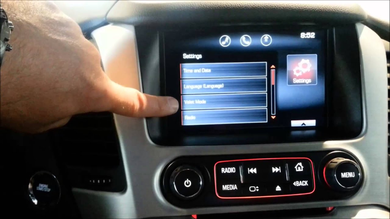 2015 Gmc Terrain Denali >> How to turn your radio into a lock box on 2015 GMC Yukon ...