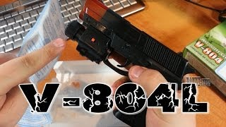 Обзор пистолета V-804L, и планы на беретту.