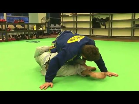 Ninja roll from 3/4 mount to the back