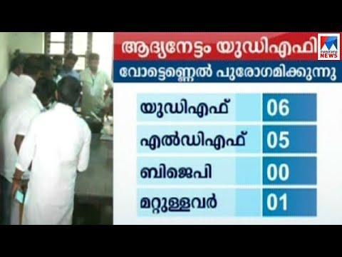 തദ്ദേശ ഉപതിരഞ്ഞെടുപ്പില് ആദ്യ നേട്ടം യുഡിഎഫിന്  | By Election| Result| CPM | BJP