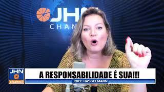 ALOOO, POVO BRASILEIRO. VAI LUTAR OU DESISTIR? #JornalDaJoice #JHNchannel