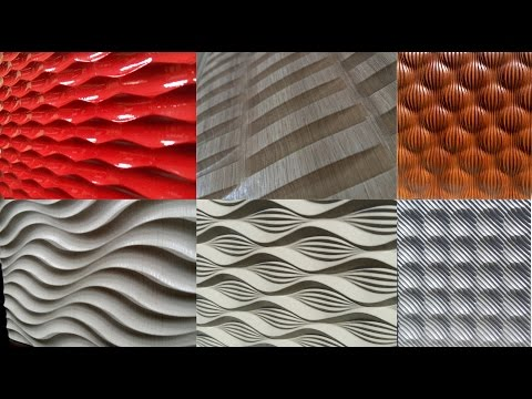 Создание 3D панелей с помощью  рельефа /Creating 3D panels using the projection toolpath on relief