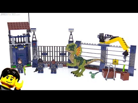 LEGO Jurassic World Dilophosaurus Outpost Attack review!