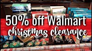 Walmart Christmas Clearance | 50% Savings!!!