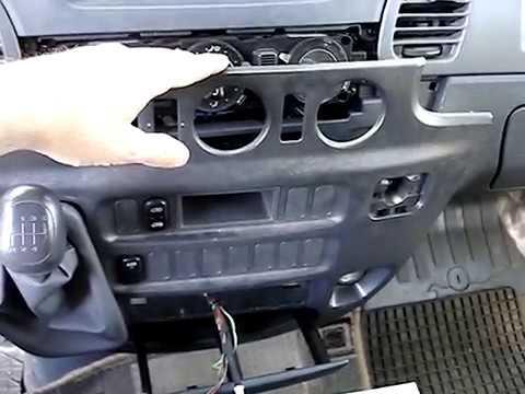 как снять пепельницу Мерседес Спринтер 903-Mercedes-Benz Sprinter