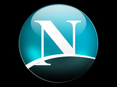 how to make netscape logo with illustrator create