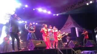 hut ultha pangkalan banteng ke 12 konser om fortuna feat demy