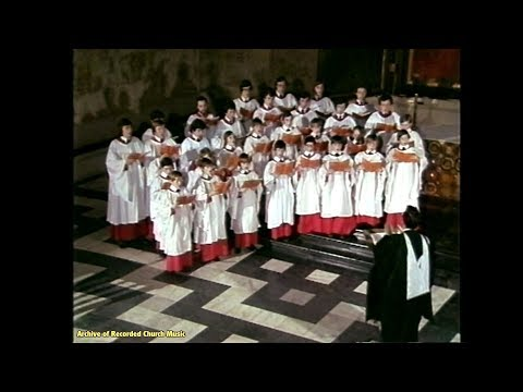 "TV ""Christmas Carols from Cambridge"": King's College Cambridge 1978 (Philip Ledger)"