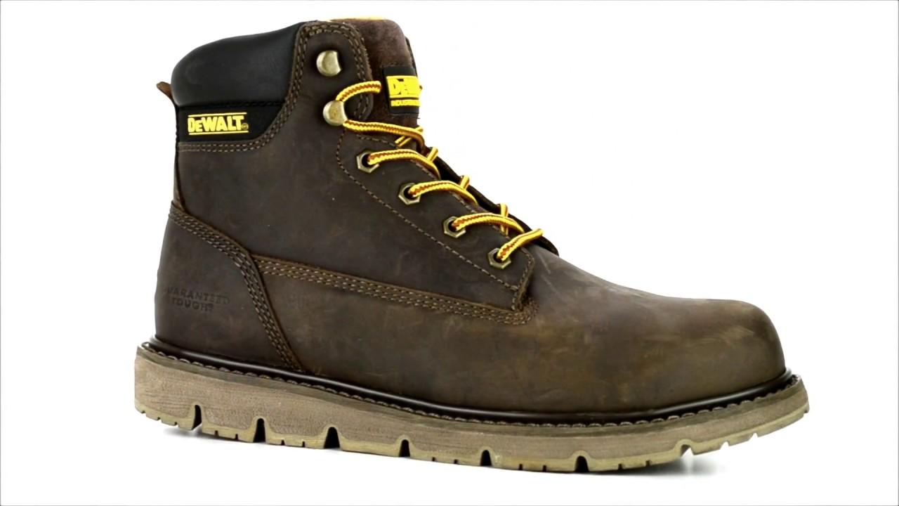 DEWALT DXWP10017 TITANIUM  Brown Work Boots