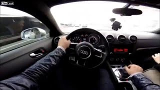 How to Drive Fast in Traffic with Audi - Beast Mode