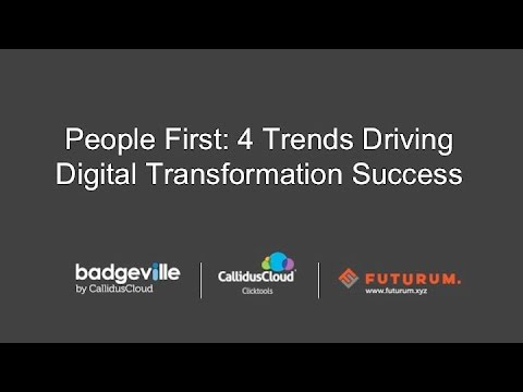 People First: 4 Trends Driving Digital Transformation Success