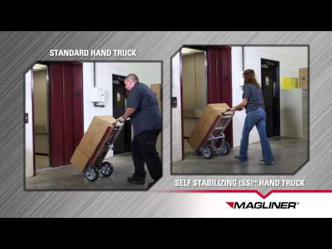 Magliner Self-Stabilizing™ (SS™) Hand Truck