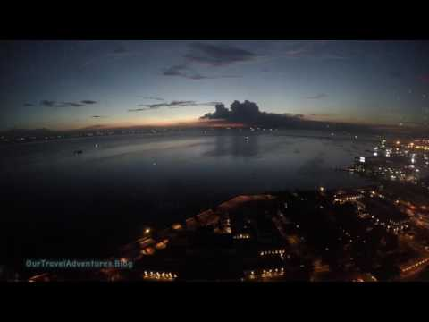 Manila Bay Sunset   Philippines   Our Travel Adventures   4K