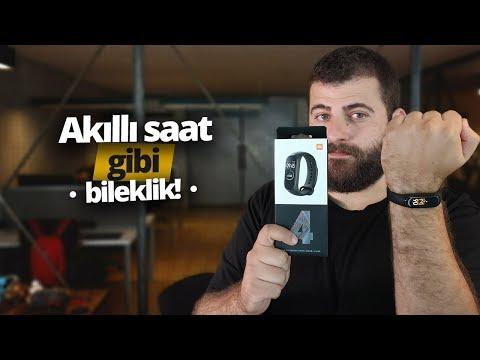 Xiaomi Mi Band 4 İnceleme - Akıllı Saat Gibi Bileklik!