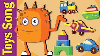 Toys Song   Toys Song for Kids   Fun Kids English
