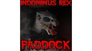 ROBLOX Gameplay Indominus Rex Paddock