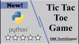 How to Create a Tic Tac Toe Game in Python Project Download with Source Code