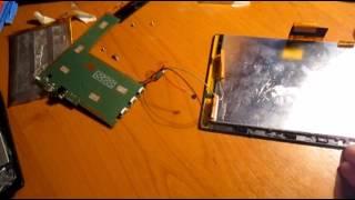 Замена  разбитого дисплея мегафон логин 3 на новый от мегафон логин 2 (в домашних условиях)