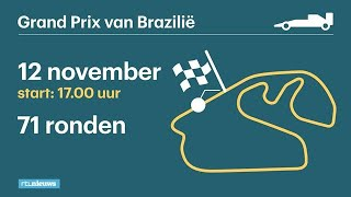 Dit moet je weten over de GP van Brazilië - RTL NIEUWS